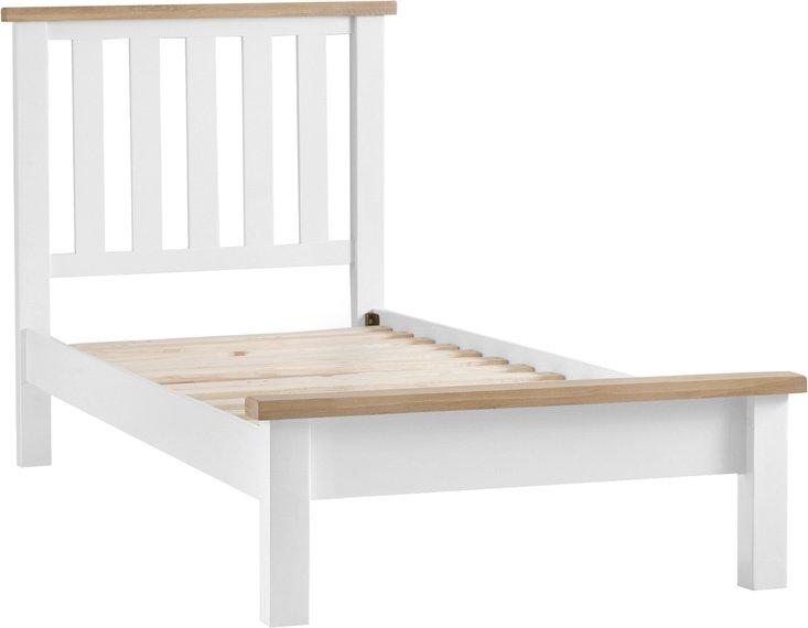 Photo of Ellen oak and white single bed
