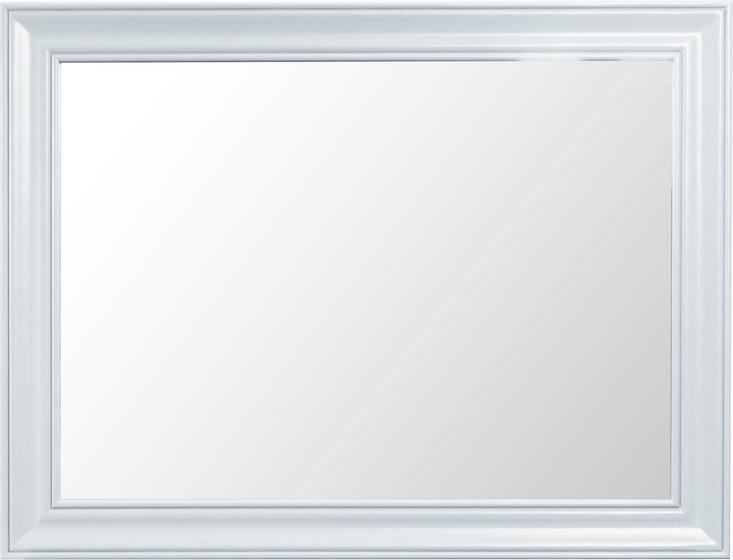 Photo of Ellen large white wall mirror