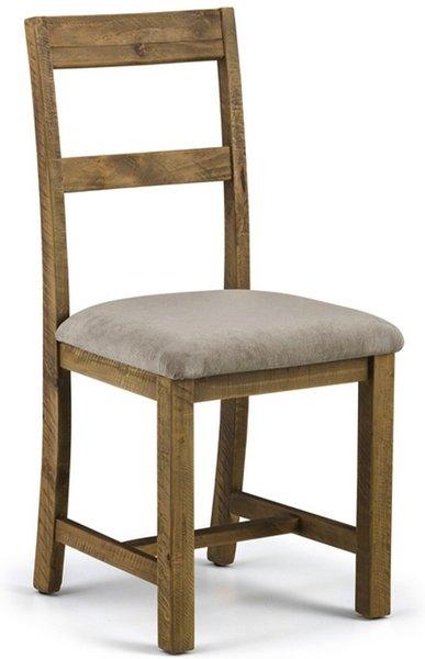 Photo of Sierra rough sawn pine dining chairs