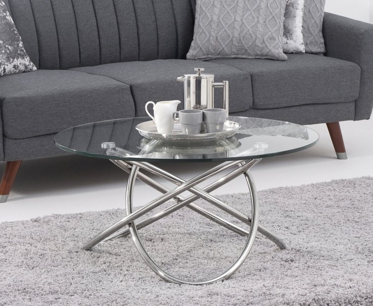 Photo of Diana glass coffee table