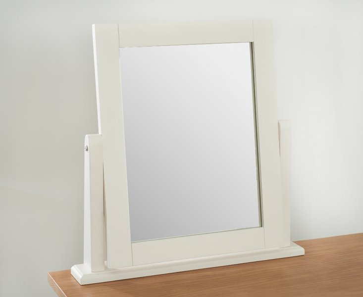 Photo of Ex-display camden ash and cream adjustable dressing table mirror