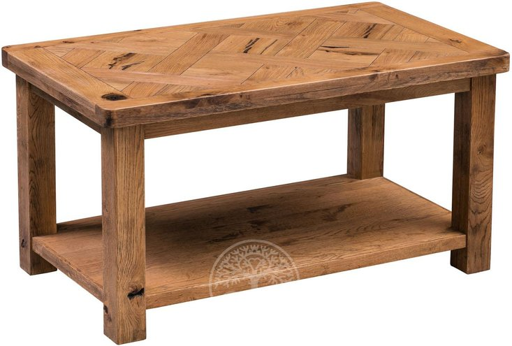 Photo of Huari oak coffee table