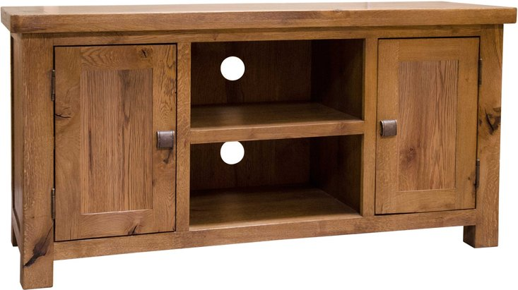 Photo of Huari oak 2 door tv cabinet