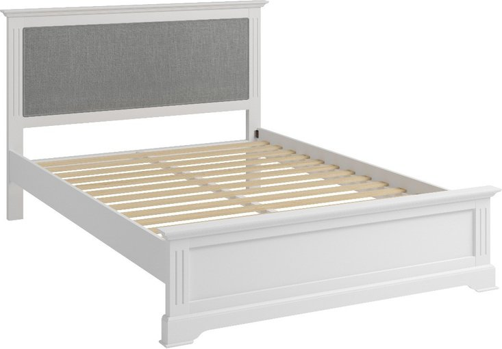 Photo of Grace white king size bed