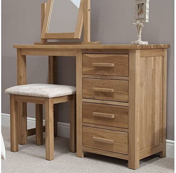 Photo of Rohan oak dressing table and stool