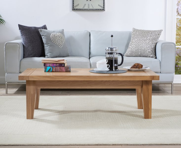 Cheadle oak coffee table