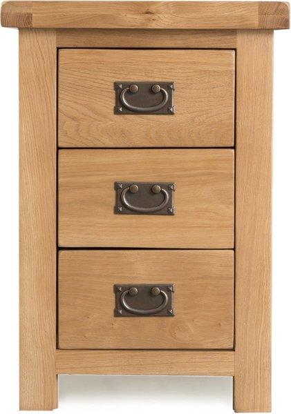 Photo of Sydney large 3 drawer bedside cabinet