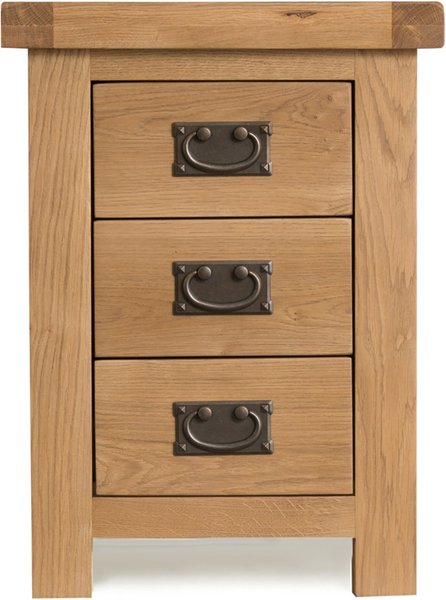 Photo of Sydney 3 drawer bedside table
