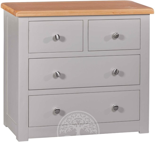 Photo of Devonshire diamond painted 2 over 2 drawer chest