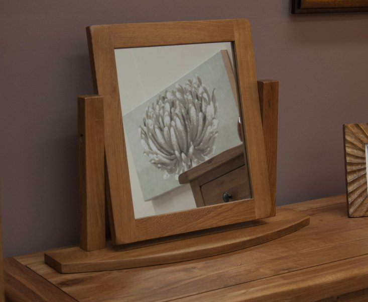 Photo of Bramley oak dressing mirror
