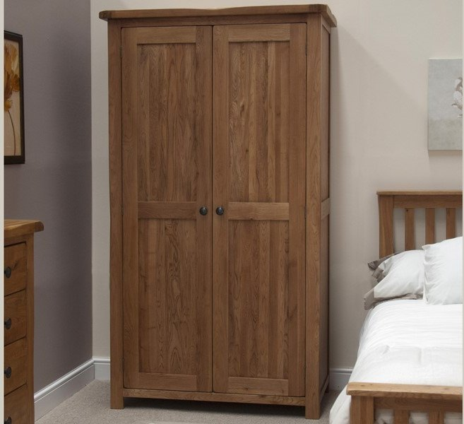 Photo of Bramley oak double wardrobe