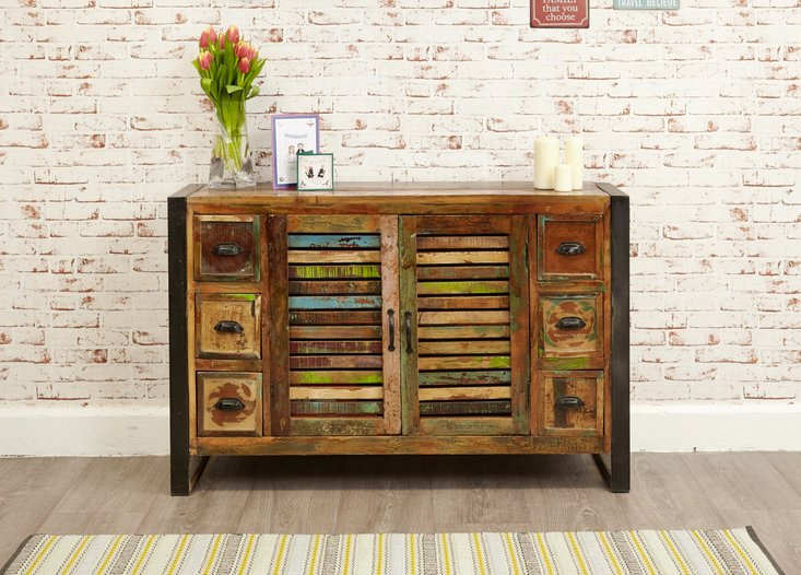 Photo of Downtown modern 6 drawer sideboard
