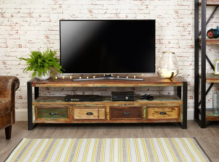 Photo of Downtown modern open widescreen television cabinet