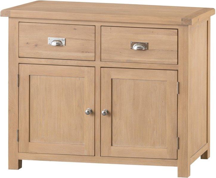 Photo of Rose 2 door 2 drawer oak sideboard