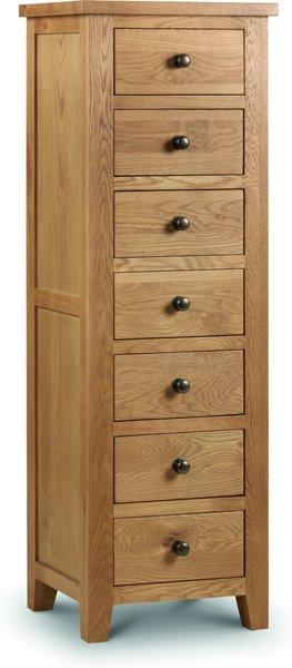 Photo of Minnesota oak tall 7 drawer chest