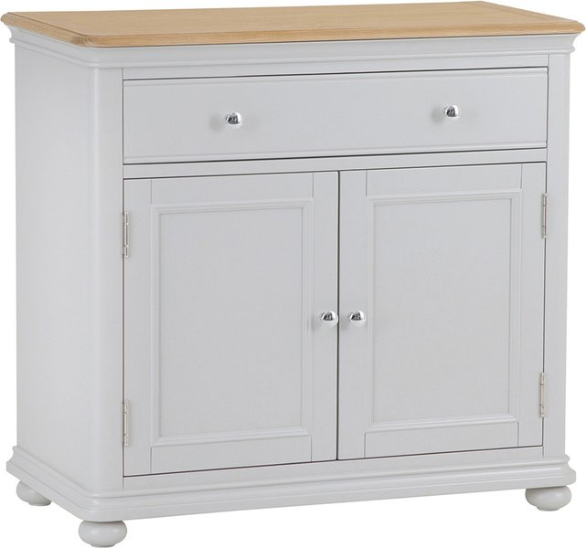 Photo of Holly small oak and grey sideboard