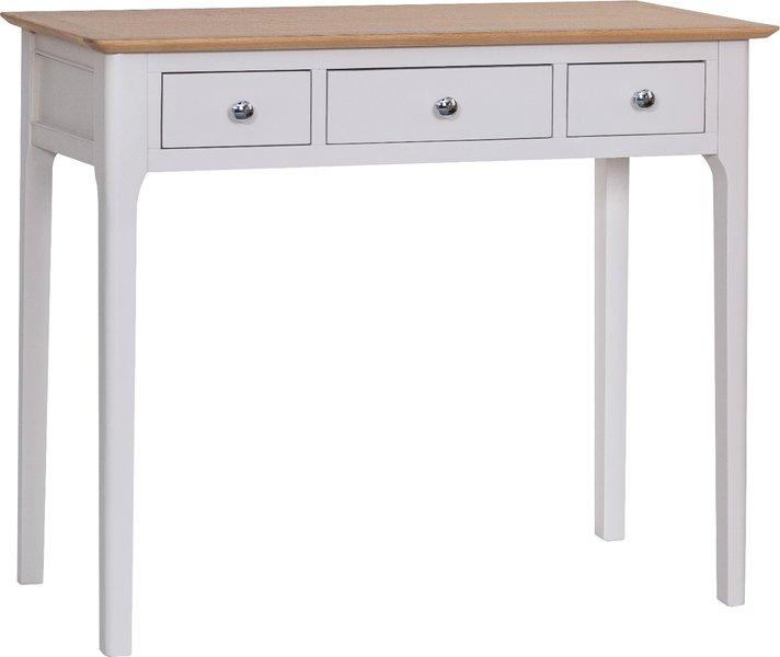 Photo of Daniella oak and grey dressing table