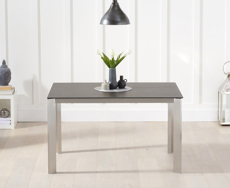 Photo of Antonella 130cm mink/brown spanish ceramic dining table
