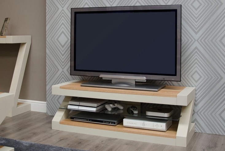Photo of Infinity painted natural top plasma cabinet
