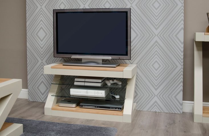 Photo of Infinity painted natural top tv cabinet