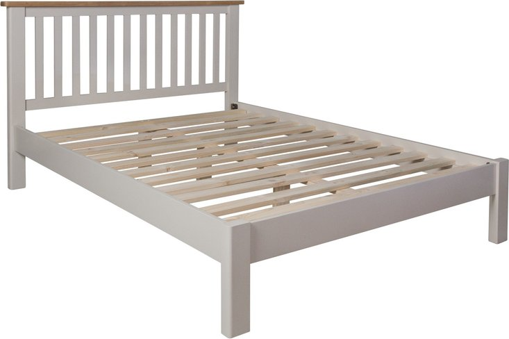 Photo of Fay oak and grey king size bed