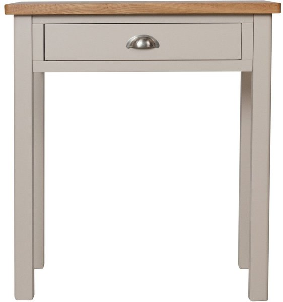 Photo of Fay oak and grey dressing table
