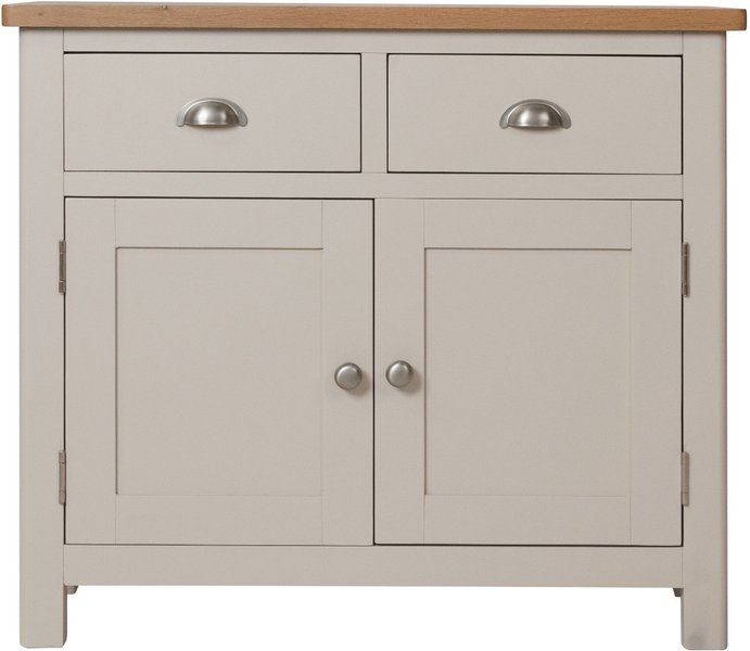 Photo of Cole oak and grey sideboard