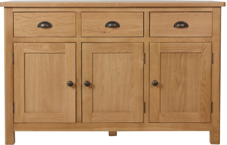 Photo of Noah 3 drawer 3 door sideboard