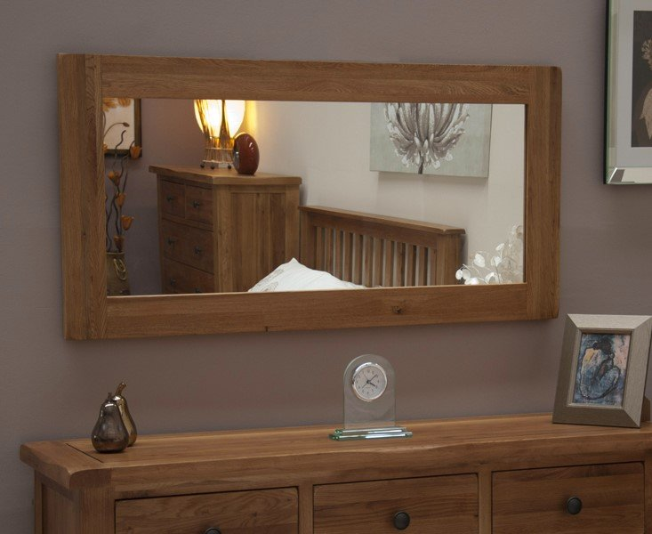 Photo of Bramley oak mirror