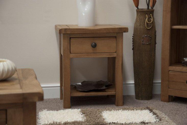 Photo of Bramley oak side table