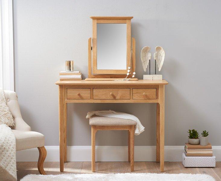 Photo of Sadie oak dressing table
