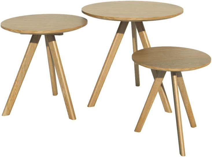Photo of Scandic round nest of tables