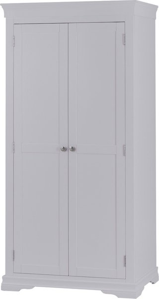 Photo of Simone grey 2 door wardrobe