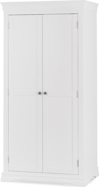 Photo of Brooklyn white two door wardrobe
