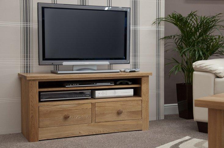 Photo of Messina 110cm oak tv unit