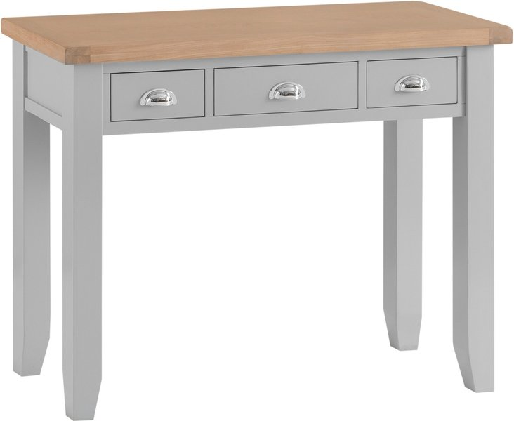 Photo of Willow oak and grey dressing table