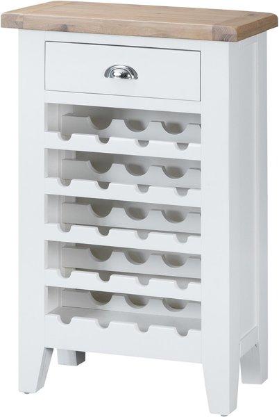 Photo of Eden oak and white wine cabinet