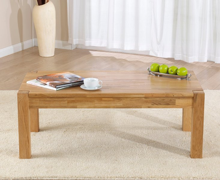 Verona oak coffee table