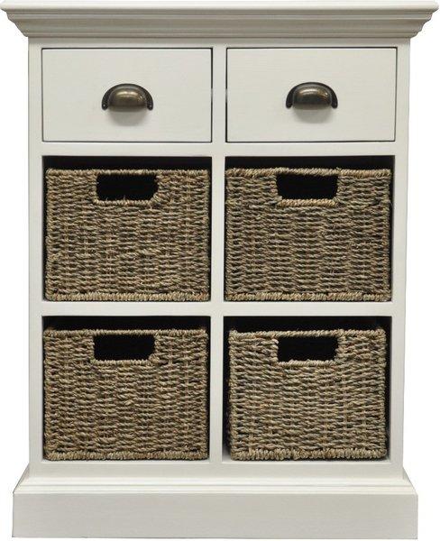 Photo of Pippa 2 drawer 4 basket unit