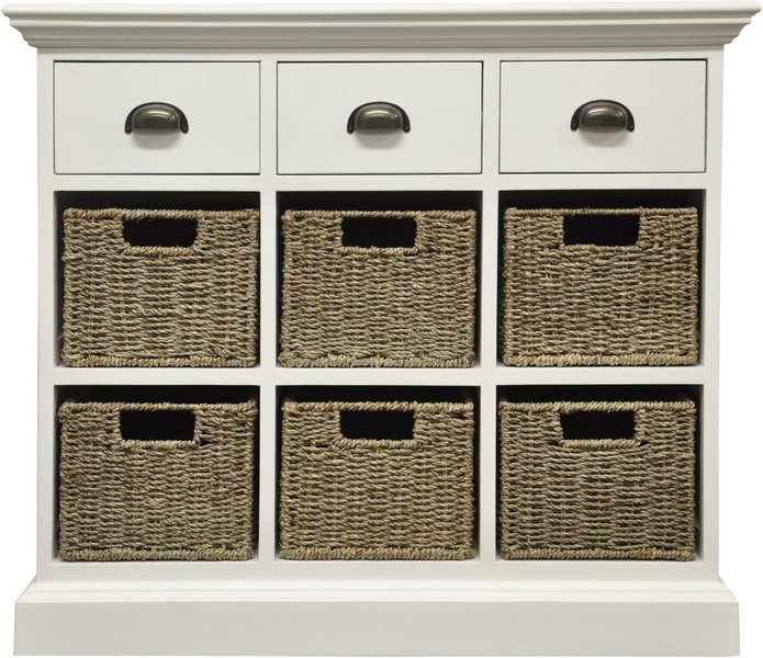 Photo of Pippa 3 drawer 6 basket unit