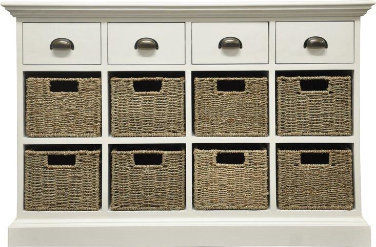 Photo of Pippa 4 drawer 8 basket unit