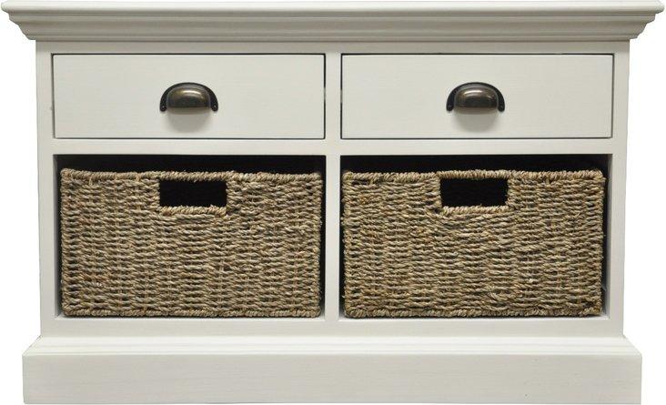 Photo of Pippa 2 drawer 2 basket unit