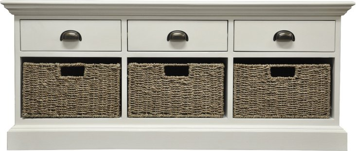Photo of Pippa 3 drawer 3 basket unit