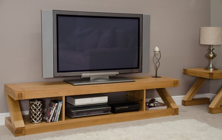 Photo of Infinity 180cm solid oak tv unit