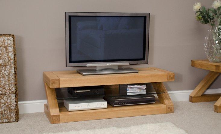 Photo of Infinity 120cm solid oak tv unit