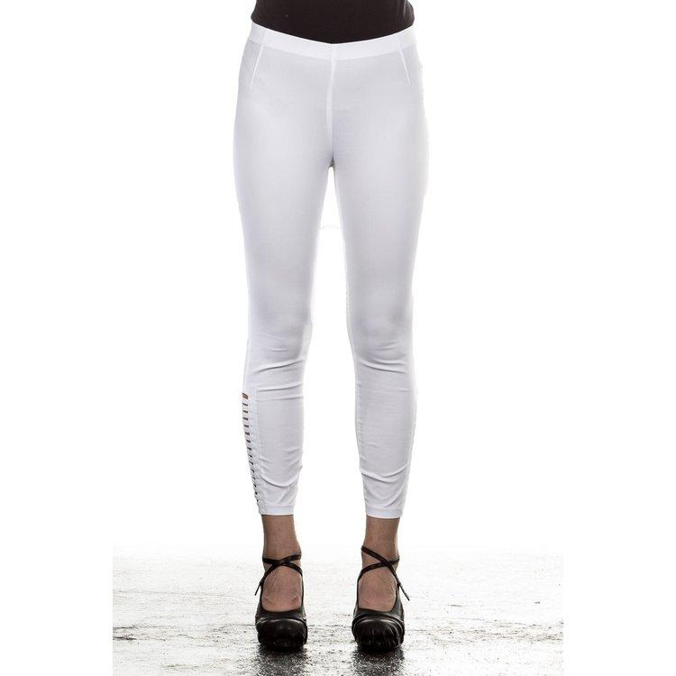Artikel klicken und genauer betrachten! - Designerhose aus angenehmem elastischen Material von Minx.Diese aus bügelfreiem Stoff hergestellte Damenhose ist nicht nur ein stylischer Hingucker  sondern auch in puncto Bequemlichkeit einfach unschlagbar.   im Online Shop kaufen