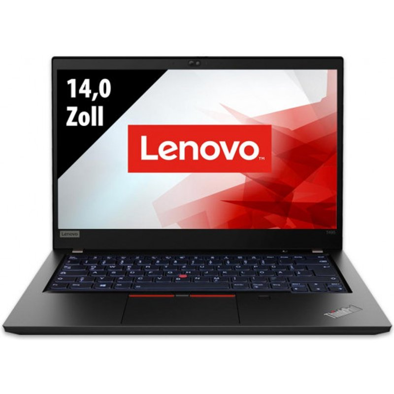 Lenovo ThinkPad T495 - 14,0 Zoll - AMD Ryzen 3 Pro 3300U @ 2,1 GHz - 8GB RAM - 250GB SSD - FHD (1920x1080) - Webcam - Win10Home