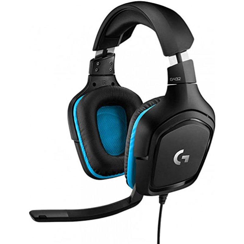Logitech G432 - Over-ear Gaming Headset - Schwarz