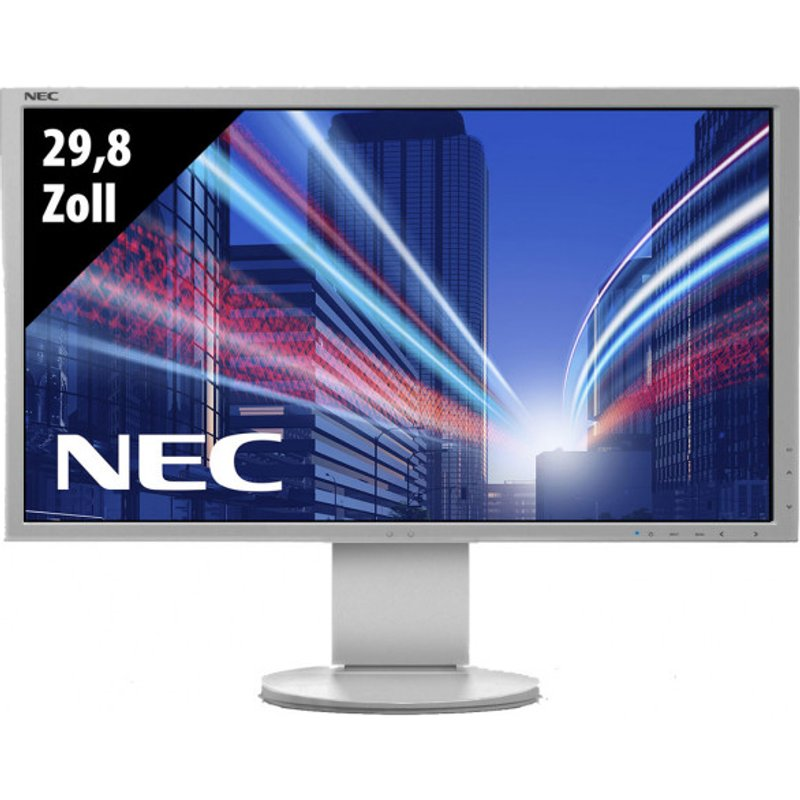 NEC MultiSync EA304WMi-WH - 29,8 Zoll - WQXGA (2560x1600) - 6ms - weiß
