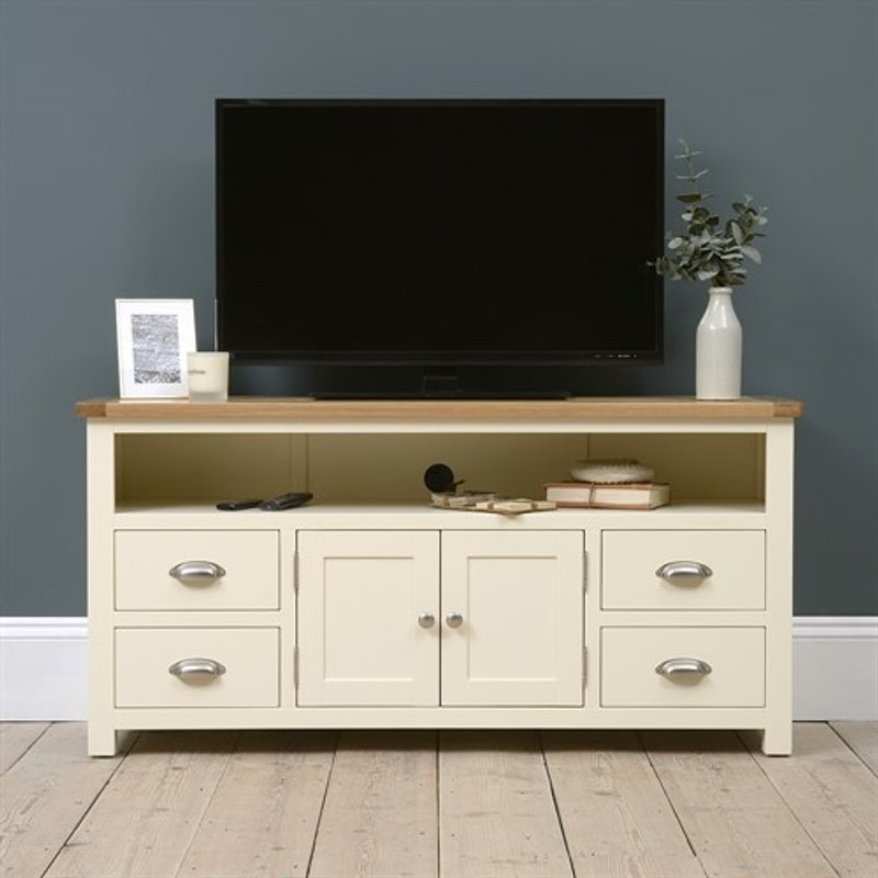 Photo of Sussex Cotswold Cream Tv And Media Unit - Up To 62